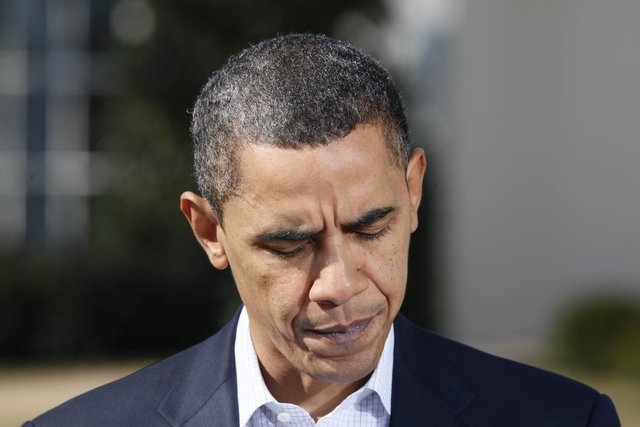 The latest polling data puts a dark cloud over President Barack Obamas 2012 re-election bid as President Obamas second term is becoming more unlikely as the days pass.