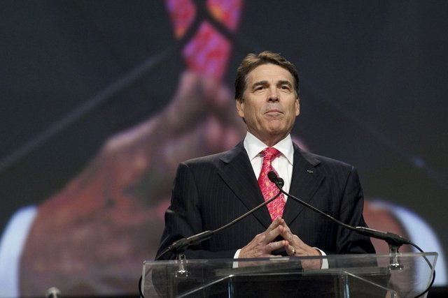 Texas Governor Rick Perry announced that he is running for president. He will run on his strong economic record; he can't run on is his liberal immigration record.