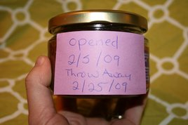 Labeled Jar by Chef Mary