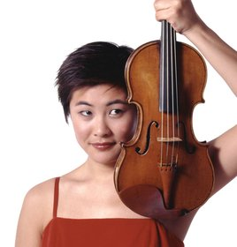 Violinist Jennifer Koh.