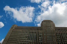 The Merchandise Mart in Chicago where my dad worked. Photo by Phil Hospod