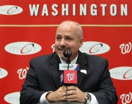 Washington Nationals GM Mike Rizzo