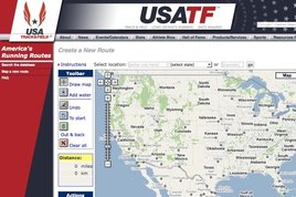 "The USATF&squot;s ""America&squot;s Running Routes"""