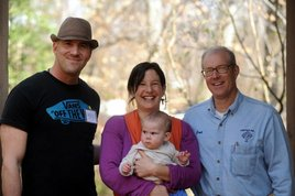 Adam Helfer (Omkara World), Ana Sophia Joanes (Director- Fresh,  the Movie), Baby Maayan, Farmer Joel Salatin (Fresh, Food Inc.)