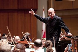Music Director Christoph Eschenbach (Photo by Scott Suchman)