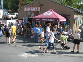 The Beer Yard in Wayne, PA hosted an SPCA fundraiser on Labor Day Weekend 2010