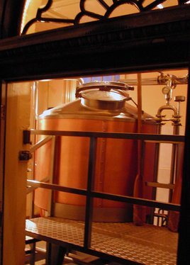Brew kettles Photo/JKubin (click to enlarge)