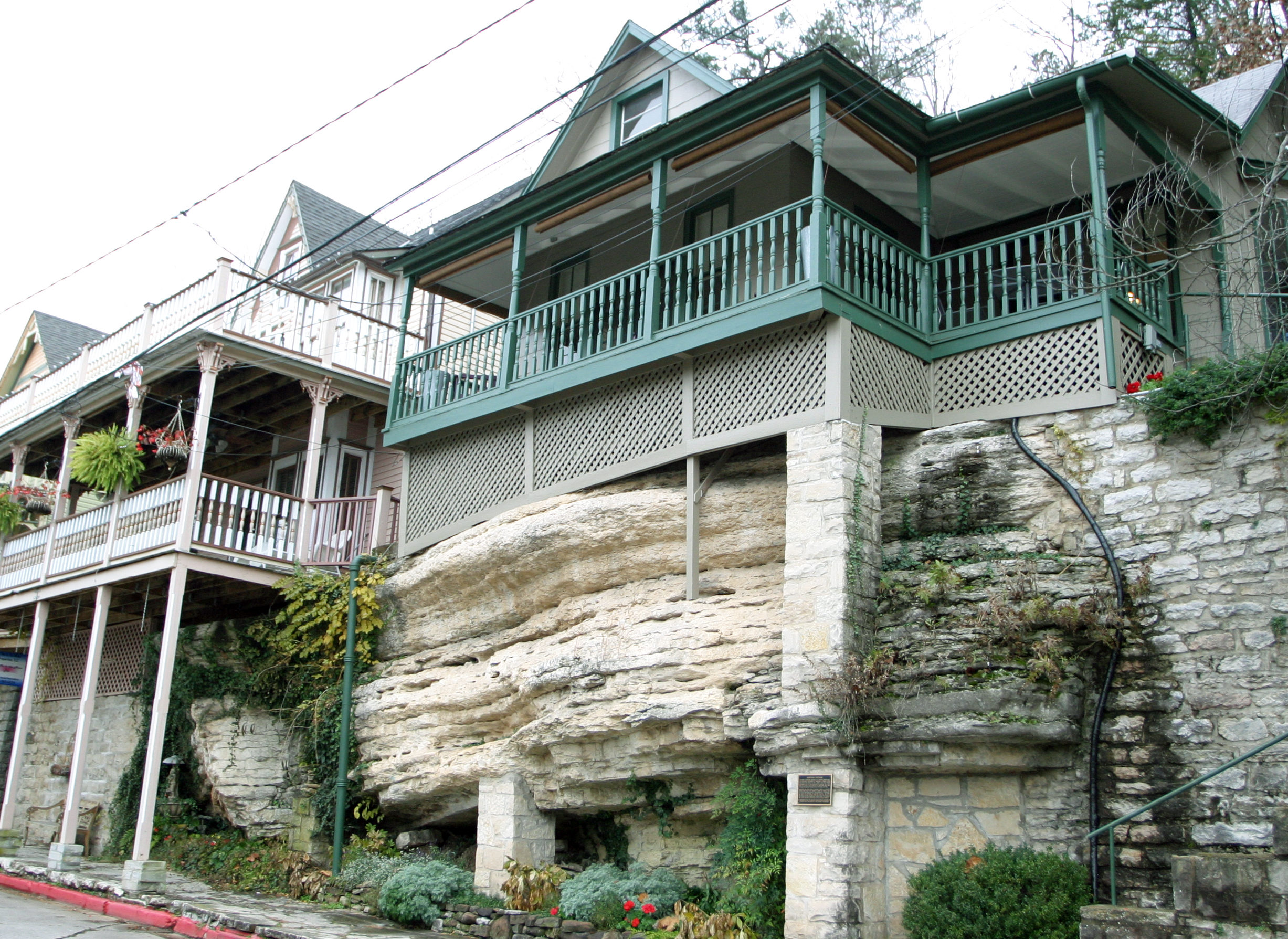 office outdoors eureka springs gallery view and beaver lake cottage suites cottages