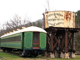 Eureka Springs Antique Train & Sistern