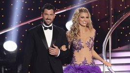 Maksim Chmerkovskiy and Erin Andrews (ABC)