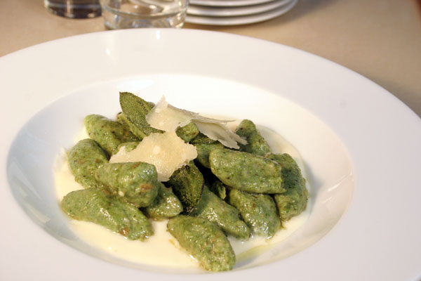Spinach-Ricotta Gnocchi by Chef Laura De Martin