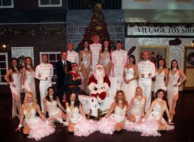 "The cast from Branson Variety Theater's ""Spirit of Christmas."""