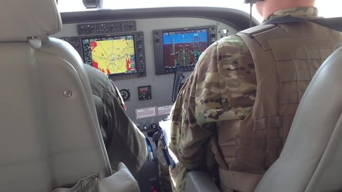 Afghan Air Force takes to the skies