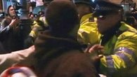 Raw: Scuffles in London After Hacking Death