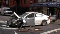 Car Crash in NYC's East Village Injures 8
