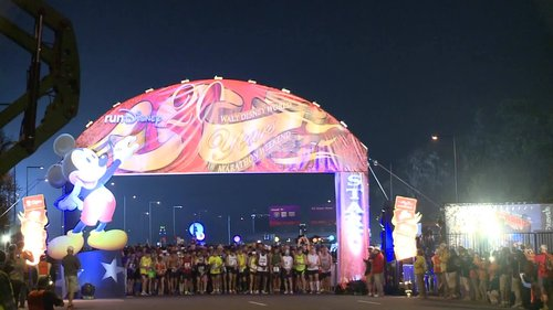 20th Anniversary Walt Disney World Marathon Video