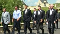 G8 Leaders Huddle on Syria