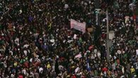 Raw: Massive Protests Fill Brazilian Streets
