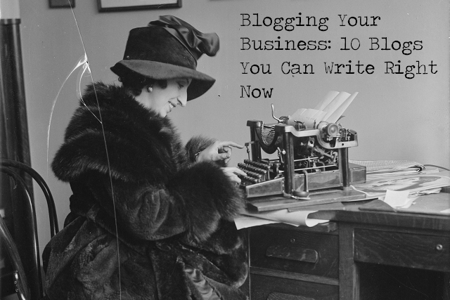 Use your blog to build readership, engage community, and promote your business.