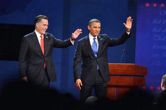 Last week, Obama held a two point advantage over Mitt Romney in Rasmussens Daily Tracking survey, just hours before the first presidential debate of the 2012 campaign season. 