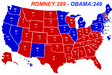 On Tuesday, Gov. Mitt Romney will prevail and President Obama will be sent back to Chicago. For the Electoral College, I predict Mitt Romney will win 289 electoral votes and President Obama will win 249.