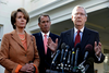 Amid fiscal cliff talks, Democrats have flip-flopped on raising taxes on the wealthy, signaling cliff diving may not be far off.