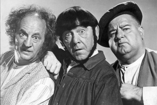 Washington is starting to look like a black and white comedy short: The Three Stooges running the country.
