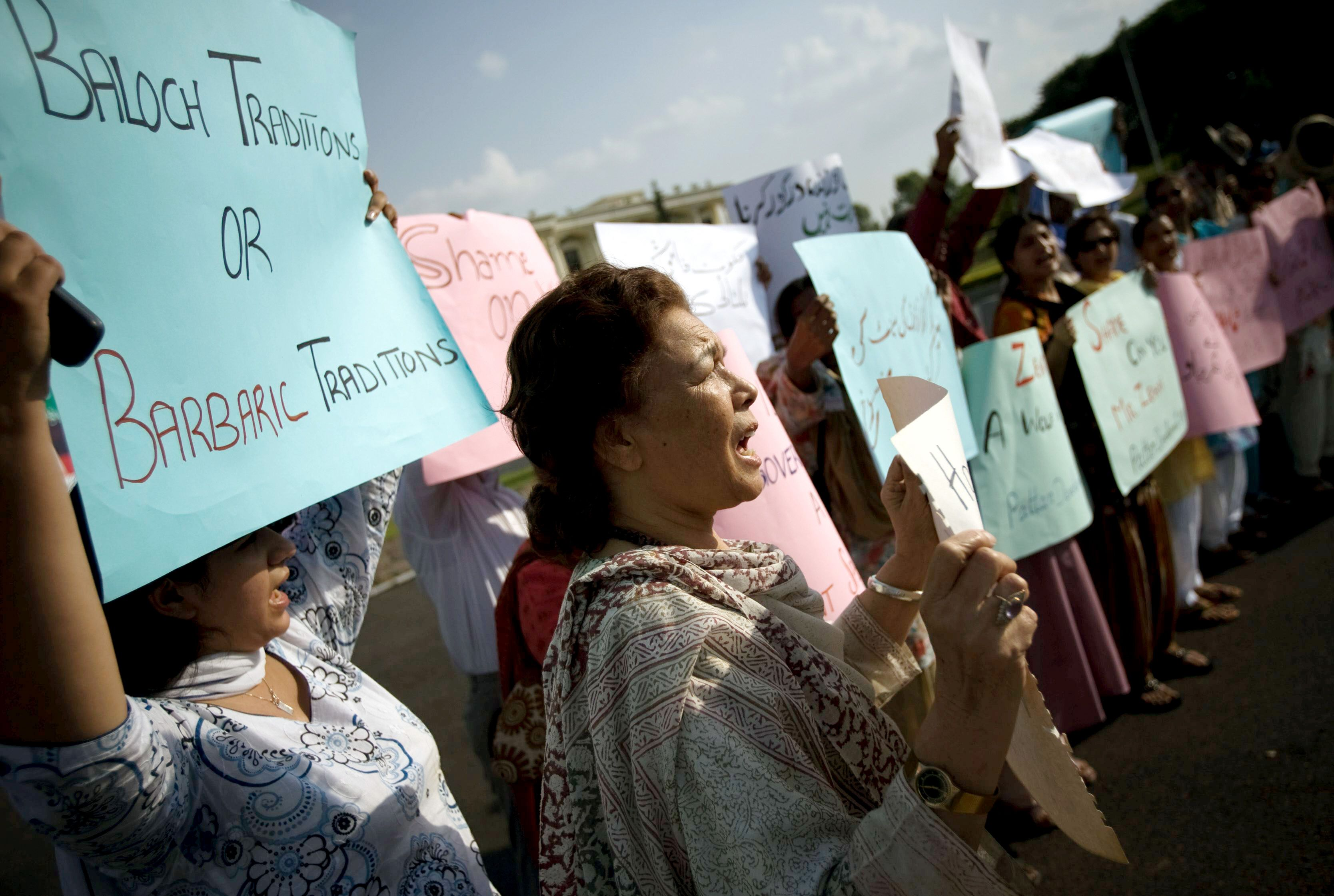 Pakistani mother, 2 daughters slain in brutal 'honor killing' over family video
