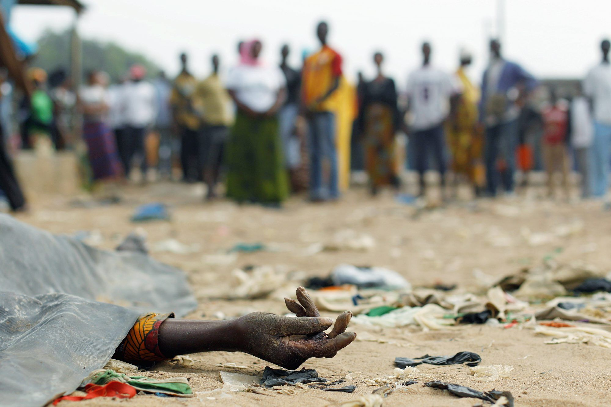 Ivory Coast casualty of war