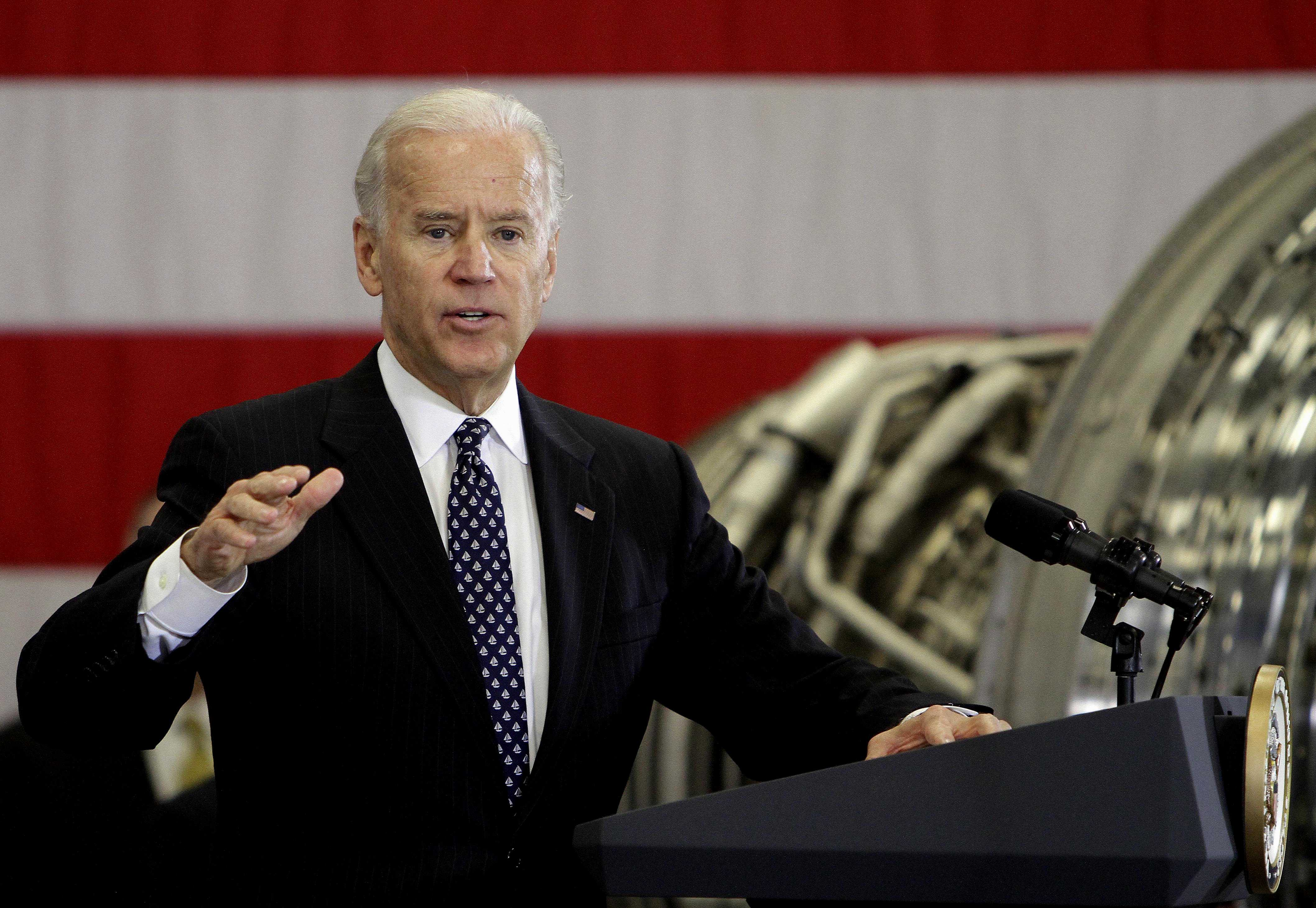 The vice president shook up the scientific world Tuesday. At a campaign stop in Virginia touting the administration's energy policy, Vice President Joseph R. Biden blamed earthquakes on the extraction of natural gas by fracking.