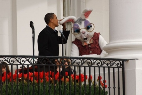 Bunny funny: RNC teases Obama with Easter photo - Washington Times