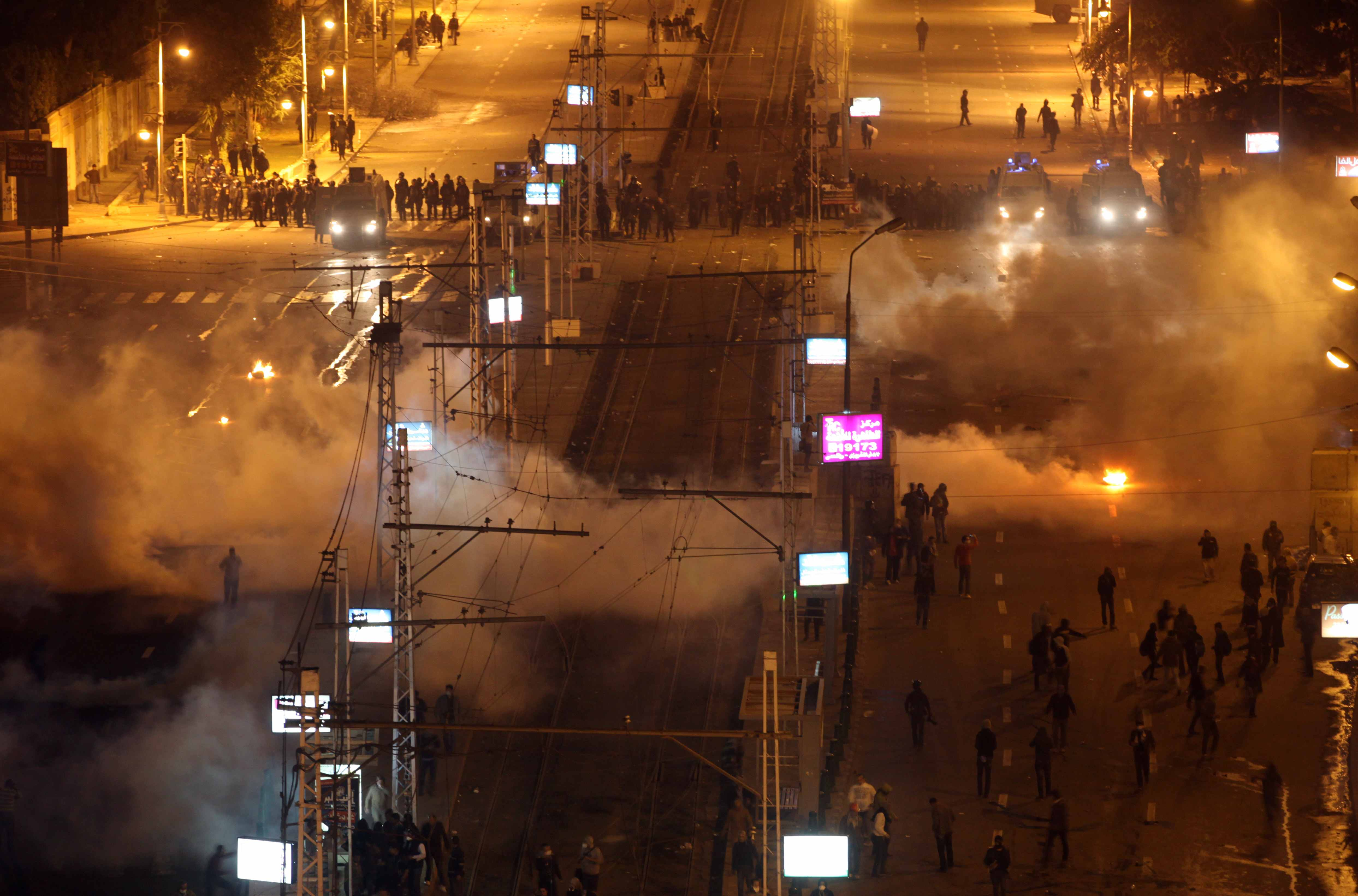Egypt on high alert as protesters mark anniversary of Hosni Mubarak's ouster
