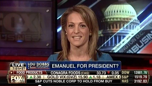 "Emily Miller on Fox Business's ""Lou Dobbs Tonight."" Feb. 15, 2013"