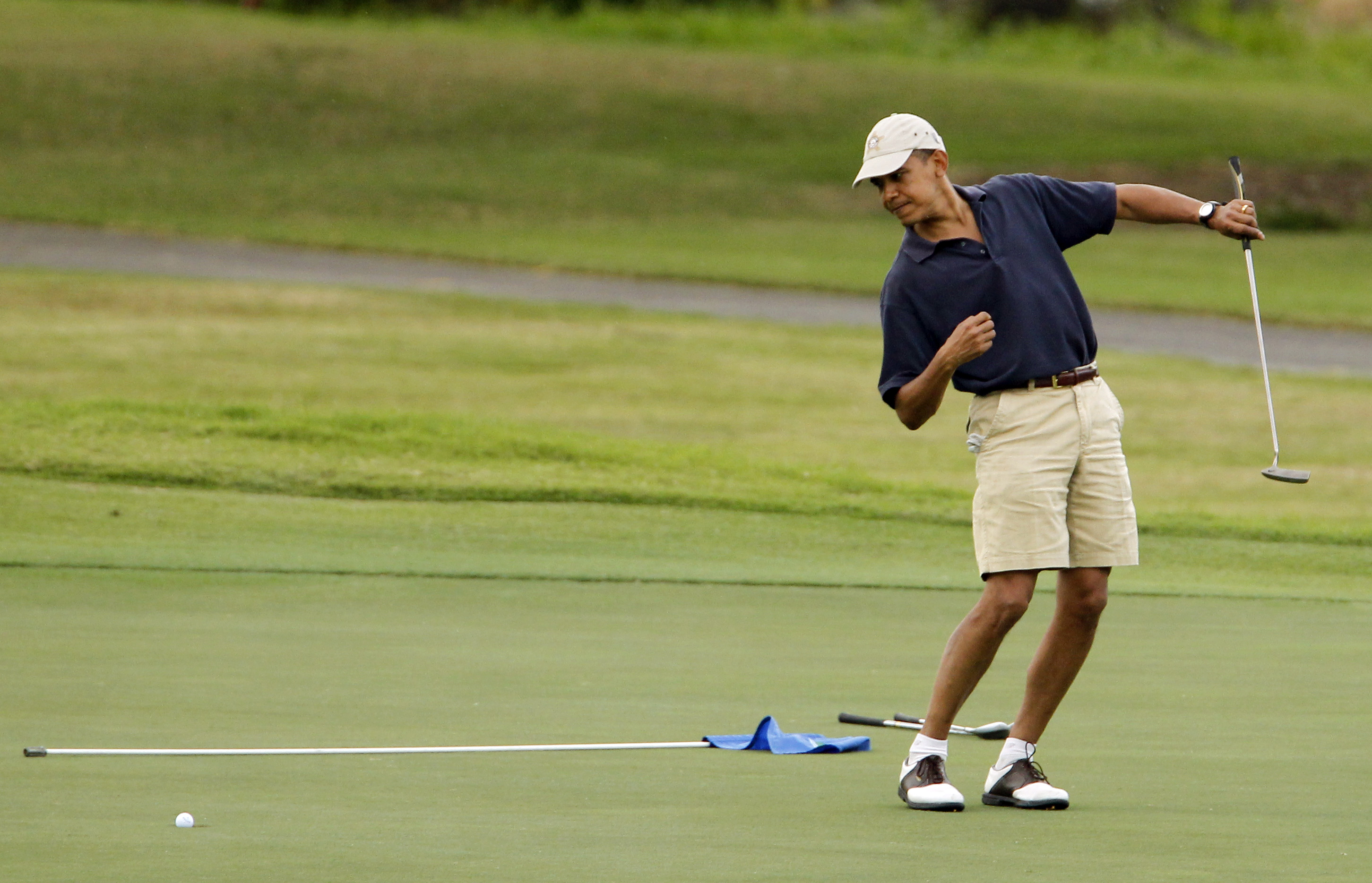 Obama finally talks of Tiger Woods: 'He's on another planet'