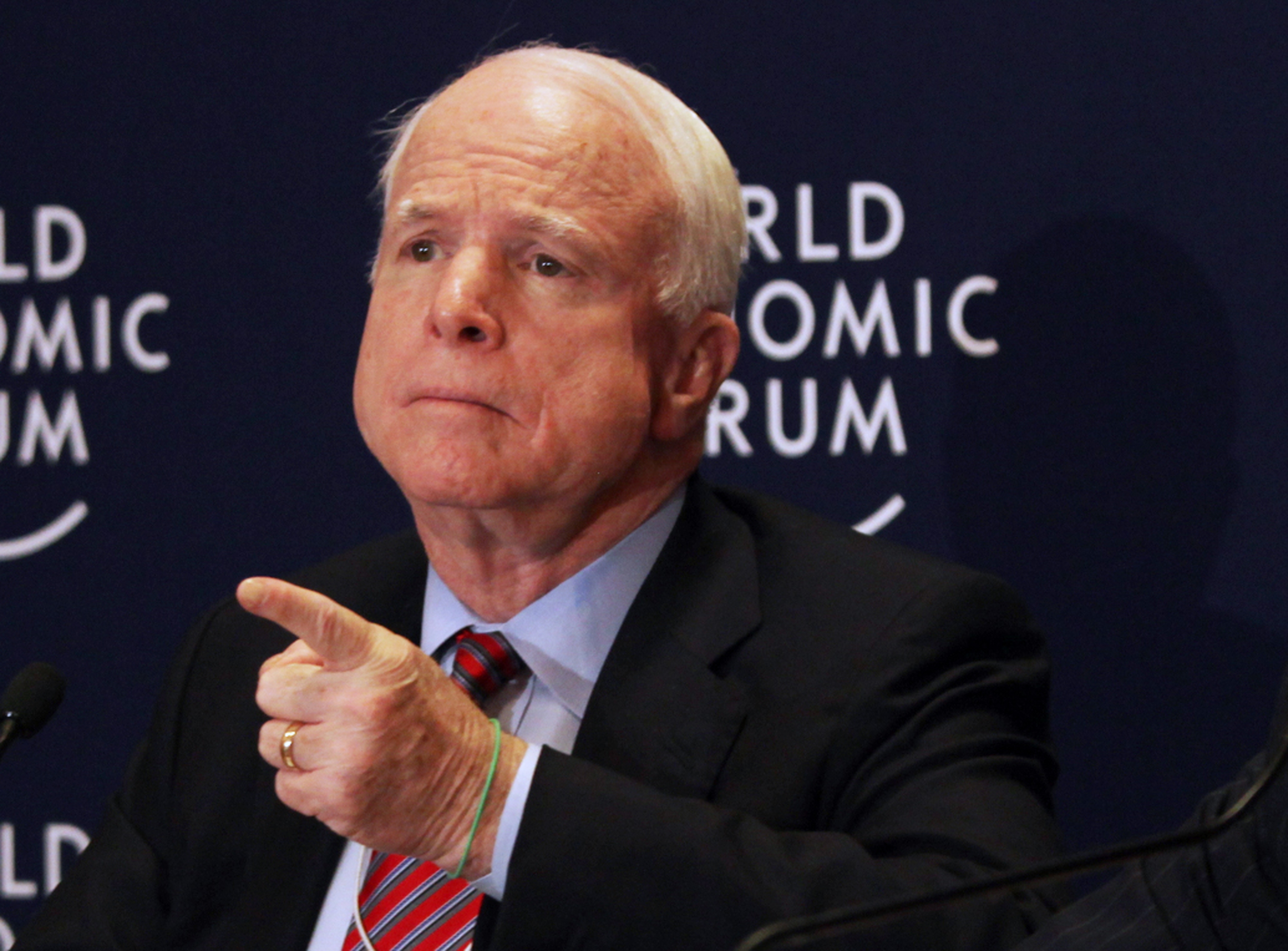 McCain hits U.S. policy on Syria, says Assad won't end war - Washington Times
