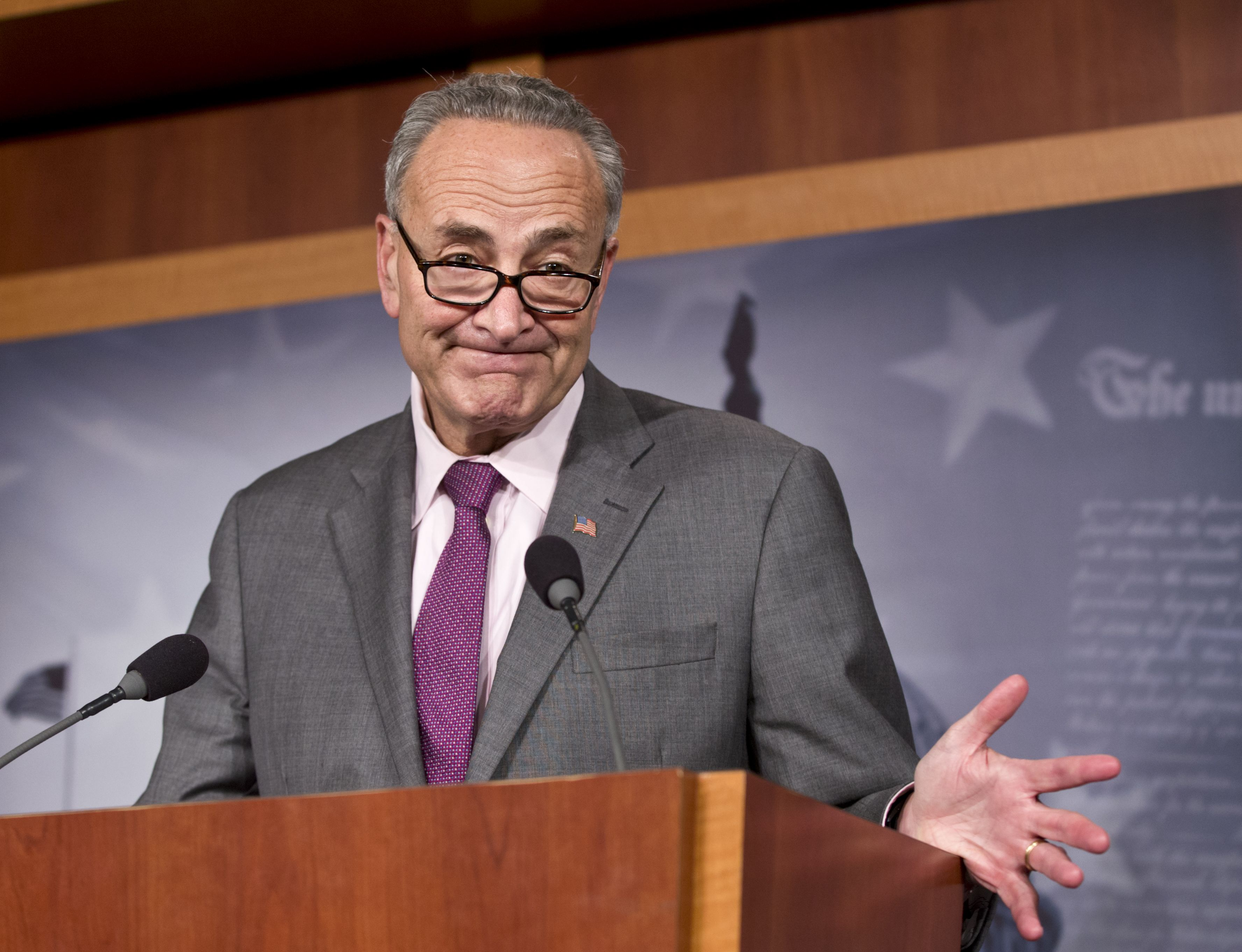 Sen. Schumer fails history, credits Jefferson for Bill of Rights