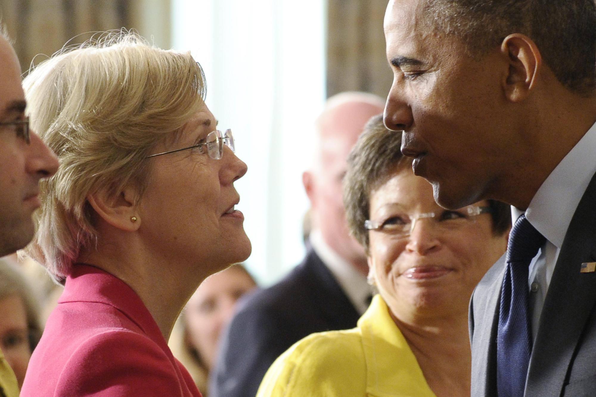 Obama ditching Hillary for 'Mini-Me' Elizabeth Warren: Edward Klein