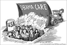 "obamacare-usa_s220x150 ObamaCare, Lois Lerner or Kevin Trudeau "" what's more dangerous?"
