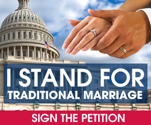 I Stand for Traditional Marriage Petition