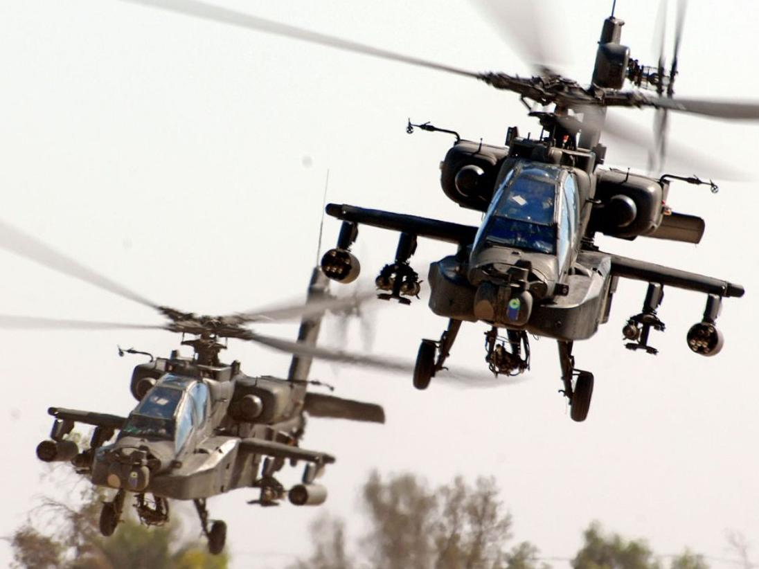 Army vets blast PC police for attacking Apache, Chinook helicopters as racist