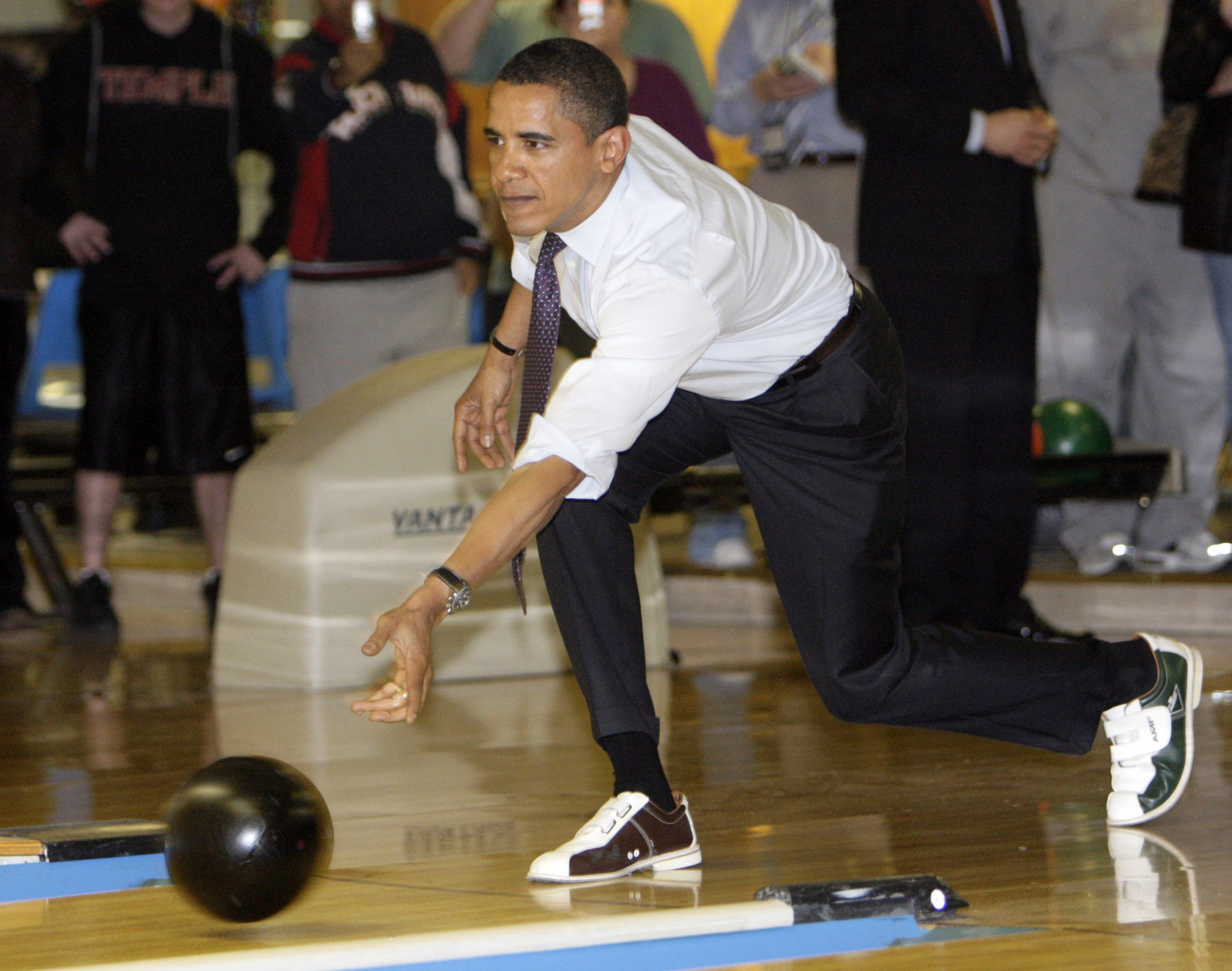 White House plans for bowling alley upgrades abruptly cancelled