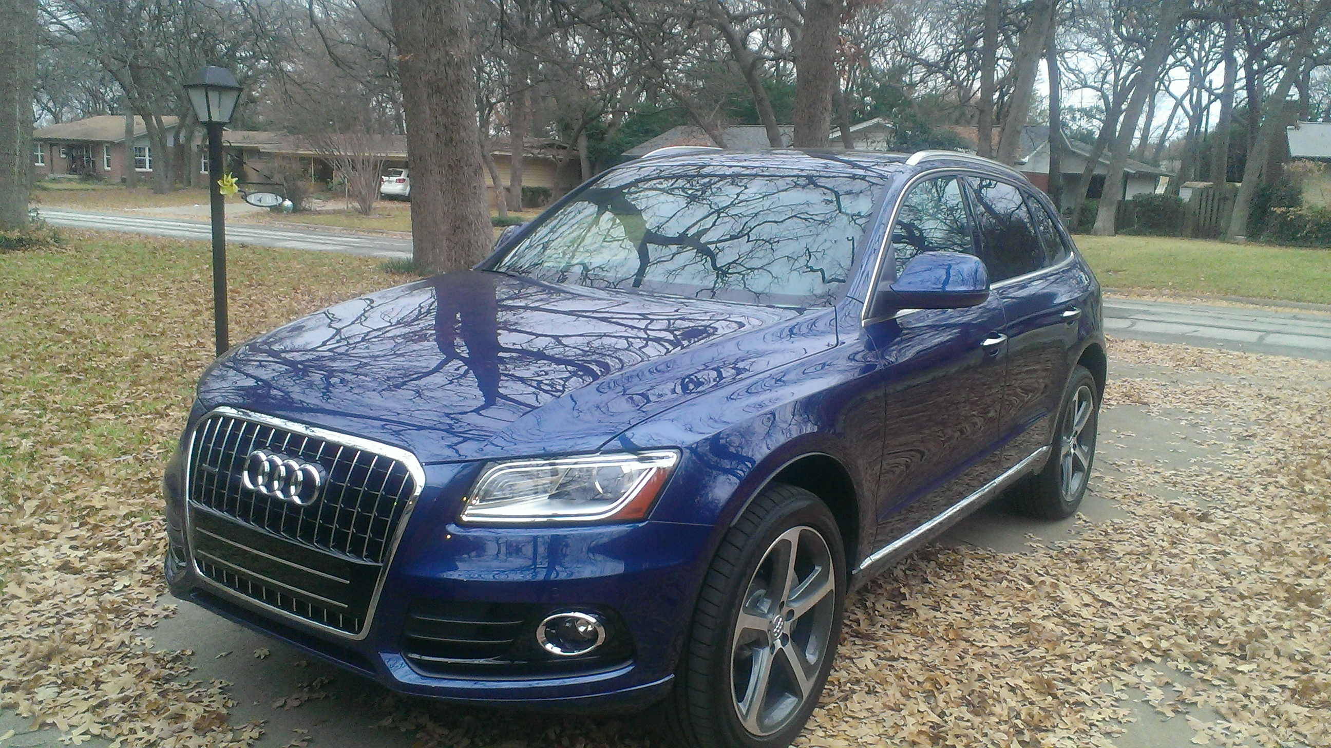 Audi Q5 2015 With 7 Trims The 2015 Audi Q5 Is A Car Made
