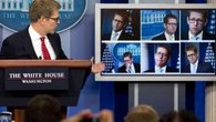 Raw: Carney Pokes Fun at His &#39;Many Faces&#39;