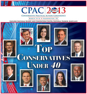 CPAC 2013 - 10 Conservatives Under 40 -  Special Section