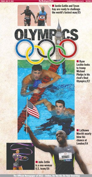 2012 London Olympics Special Section