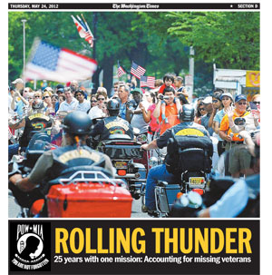 Rolling Thunder XXV Special Section