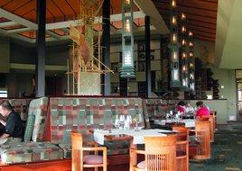 Aqueous Restaurant, Falling Rock at Nemacolin (photo/J.Kubin)