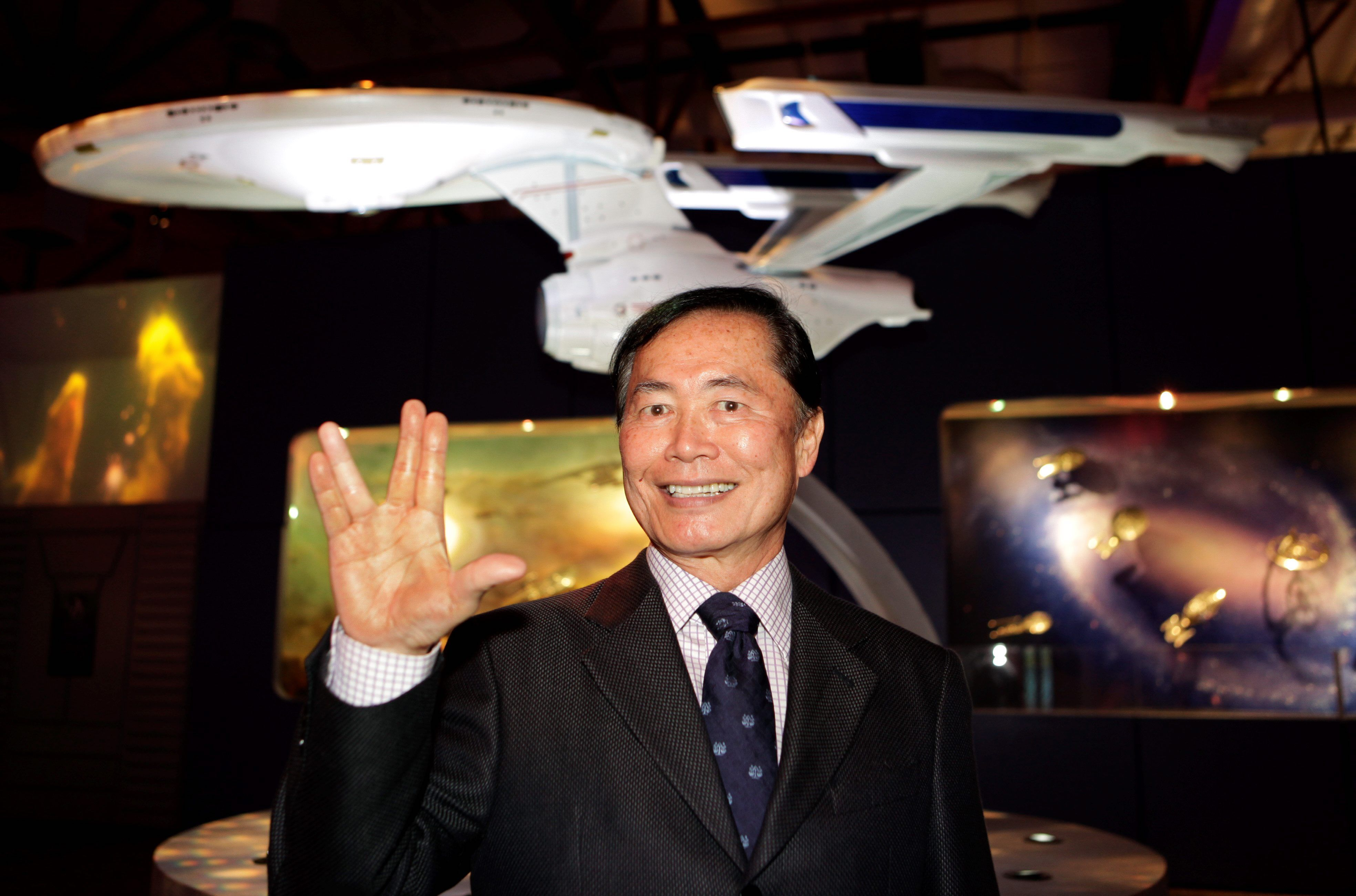 George Takei says Trump has phasers set to 'slavery' for border control