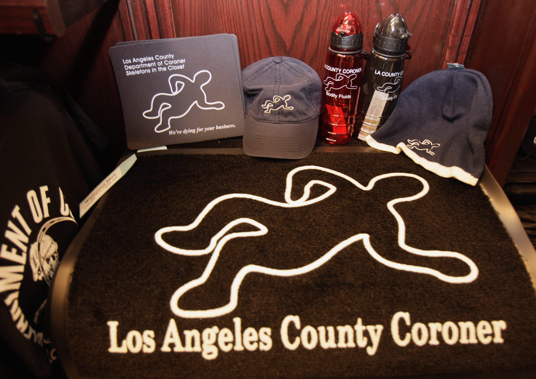 LA County coroner sells own line of merchandise - Washington Times