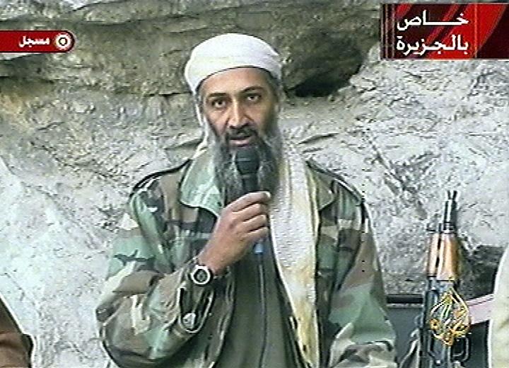 Osama bin Laden 2001